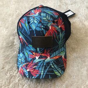 Vineyard Vines Tropical Baseball Cap Trucker Hat